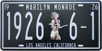 Placa Metal Vintage - Marilyn Monroe