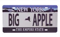 Placa Metal Vintage - New York Big Apple