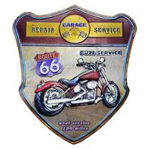 Placa Metal - Full Service
