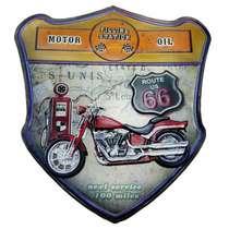 Placa Metal - Motor Oil
