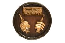 Placa - Autoridade em Churrasco