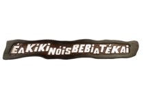 Placa de Resina - É Aki Ki Nois Bebi Até Kai