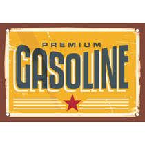 Placa MDF Gasoline - 28 x 42 cm