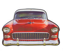 Placa em MDF - Old Car 2