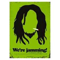 Placa em MDF - Bob Marley - 28x21cm