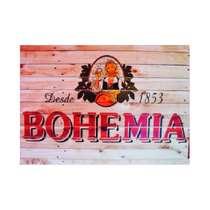 Placa em MDF - Bohemia - 28x21cm
