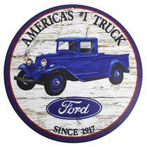 Placa em MDF - Ford Truck