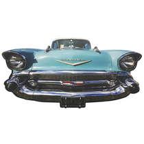 Placa em MDF - Chevrolet