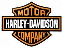 Placa em MDF - Harley Davidson