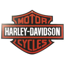 Placa em MDF - Logo Harley Davidson