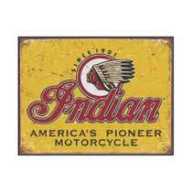 Placa em MDF - Indian Motocicle