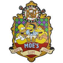 Placa em MDF - Moe's Simpsons