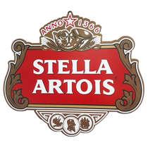 Placa em MDF - Stella Artois