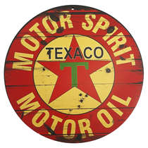 Placa em MDF - Texaco