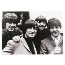 Placa em MDF - The Beatles