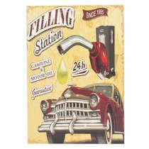 Placa em Madeira - Gasoline 24h