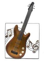 Placa em metal - Guitarra