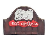 Porta Chave - 100% Churrasco