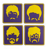 Porta Copos - Beatles Face - 4 und