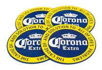 Porta Copos - Corona Extra - 4 und
