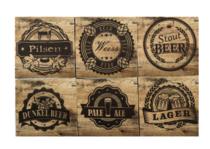 Porta Copos - Estilos de Cerveja - 6 und