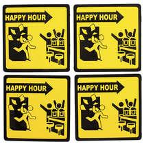 Porta Copos - Happy Hour - 4 unidades