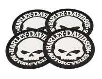 Porta Copos - Harley Davidson Skull- 4 und