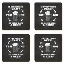 Porta Copos - Have a Beer - Jogo 4 unidades