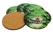 Porta Copos - Heineken - Jogo 6 unidades