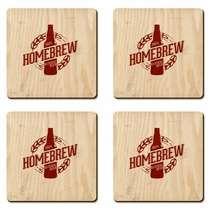 Porta Copos - Home Brew- Jogo 4 unidades