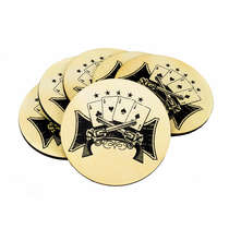 Porta Copos - Poker - Jogo 6 Unidades