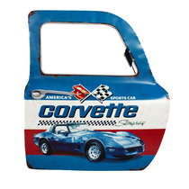 Porta de carro decorativa - Corvette