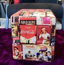 Pufe  Drink Coca - Linha CDB Designer