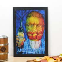 Quadro Absinto Van Gogh - 33x22cm