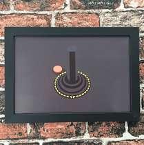 Quadro Atari - Linha CDB Designer 22x33 cm