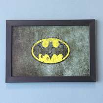 Quadro Bat-Signal - Linha CDB Designer 22x33 cm