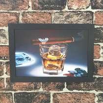 Quadro Cassino Bar - Linha CDB Designer 33x22 cm