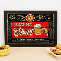 Quadro Chopp -  Linha CDB Designer 22x33 cm