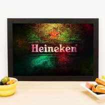 Quadro Colors of Heineken - 33x22 cm