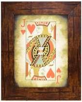 Quadro Decorativo com Moldura Carvalho Jake - 53 x 43 cm