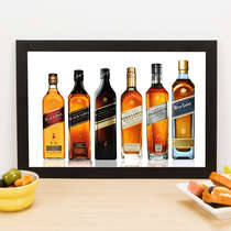 Quadro Johnnie Walker - 22x33 cm