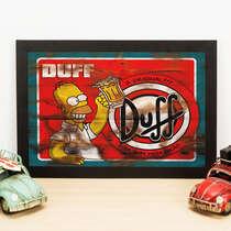 Quadro Duff sem Moderação - 22x33 cm