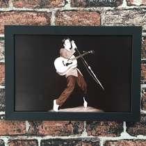 Quadro Elvis - Linha CDB Designer 22x33 cm