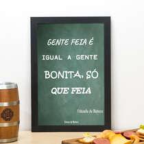 Quadro Filosofia de Boteco - 33x22 cm