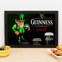 Quadro Guinness  - Linha CDB Designer 22x33 cm