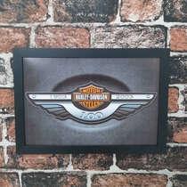Quadro Harley Davidson 100 anos - Linha CDB Designer 33x22 cm