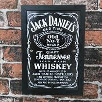 Quadro Jack Black - Linha CDB Designer - 33x22 cm