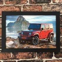 Quadro Jeep  - Linha CDB Designer  22x33 cm