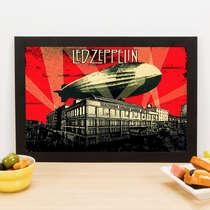 Quadro Led Zeppelin - 22x33 cm