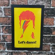 Quadro Let's dance - Linha CDB Designer - 33x22 cm